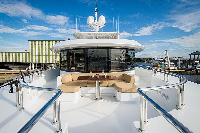Dream Weaver yacht deck
