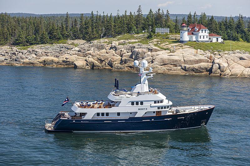 SCOUT II yacht Brooke Marine