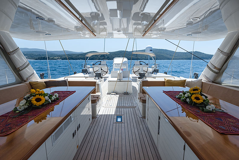 Path yacht deck