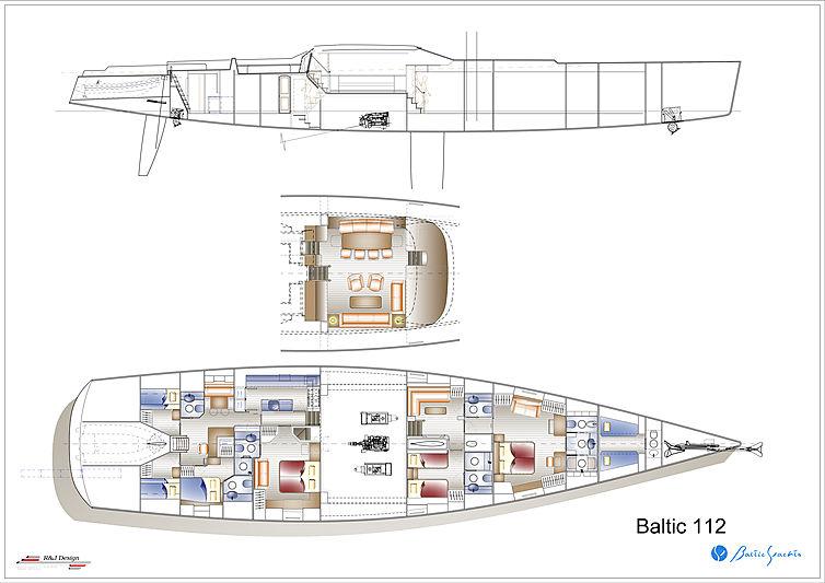 Path yacht general arramgement