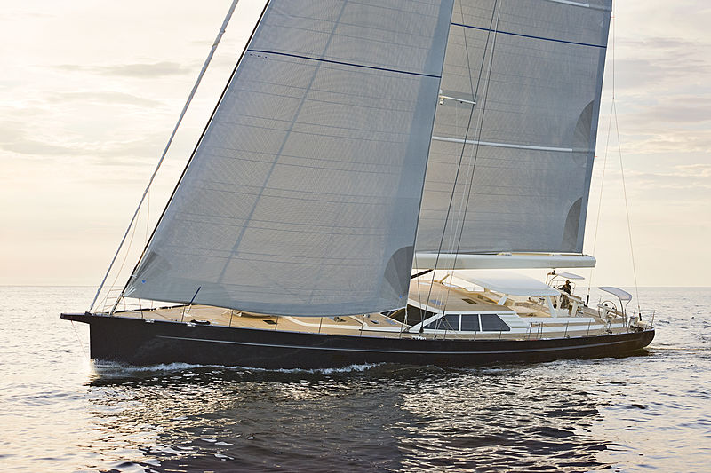 Path yacht sailing