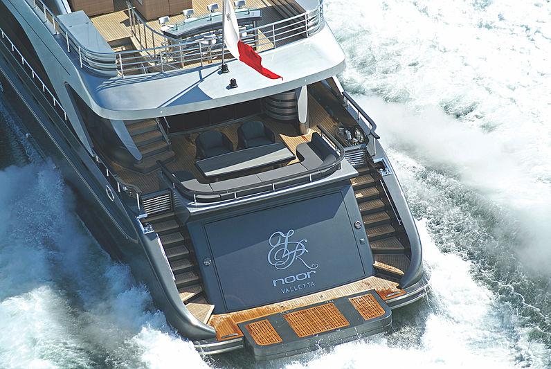 RL Noor yacht exterior