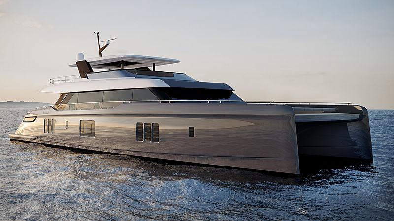 Sunreef 80 power exterior design