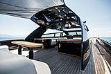 Otam 85 GTS Cara Montana yacht deck