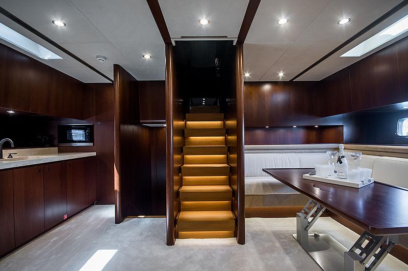 Otam 85 GTS Cara Montana yacht interior