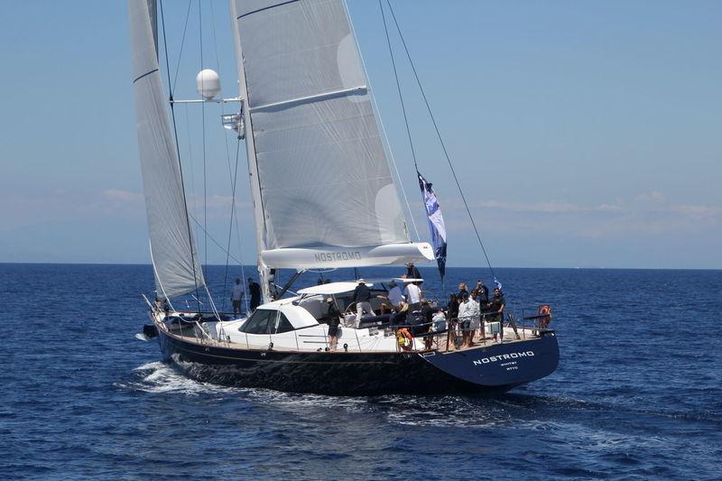 NOSTROMO yacht Pendennis
