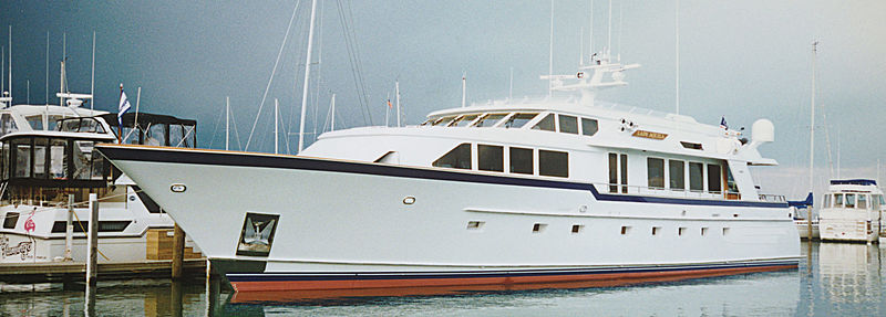 Burger Boat yacht Lady Aquila