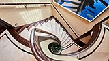Gladiator yacht staircase