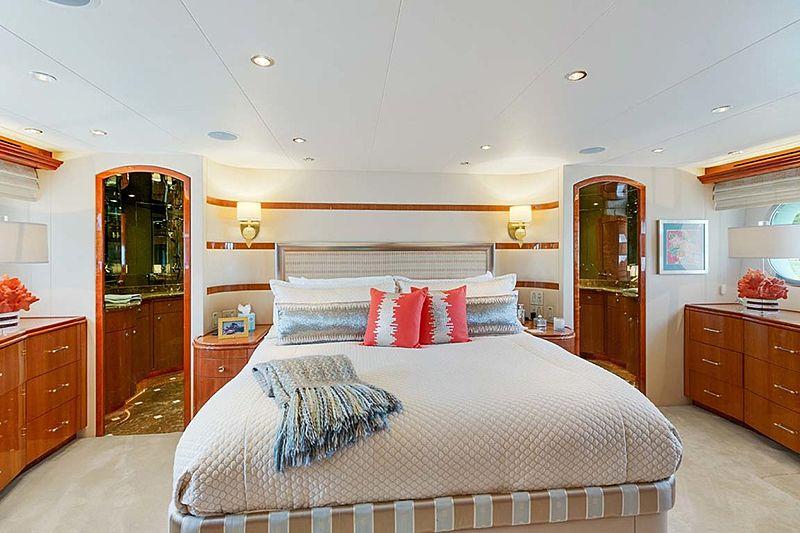 Pneuma yacht stateroom