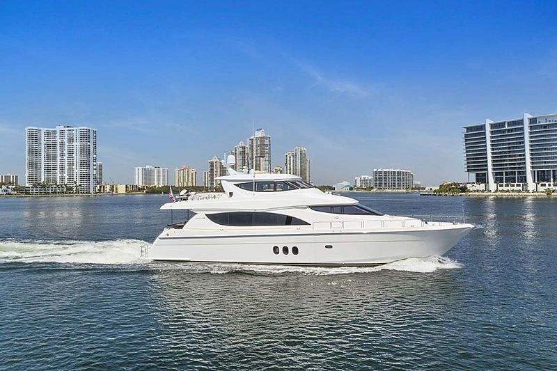 Pneuma yacht cruising