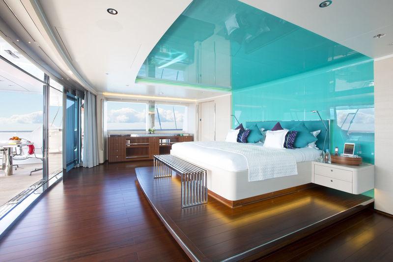 Aquijo yacht master cabin
