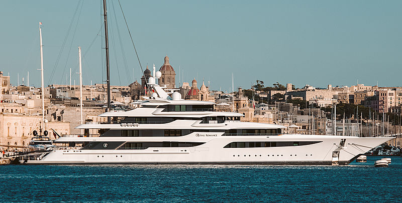 Royal Romance yacht by FEadship in Malta