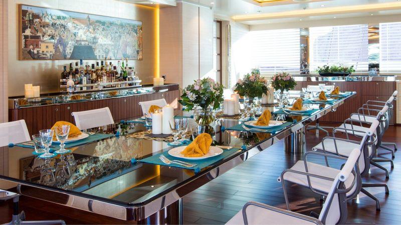 Aquijo dining room