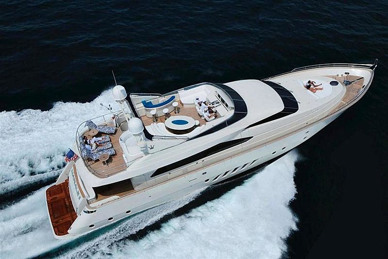 Free Wind II yacht cruising