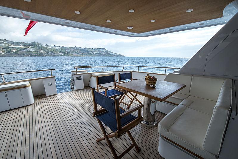 Crowbridge yacht deck