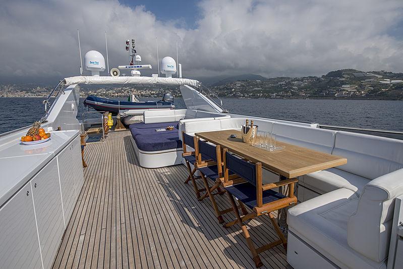 Crowbridge yacht sun deck