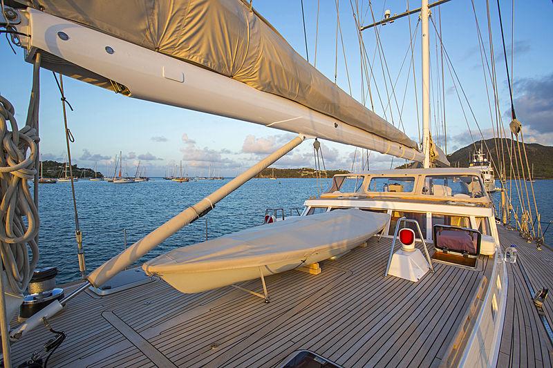 Jupiter yacht deck