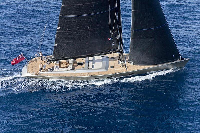 DARK SHADOW yacht Wally
