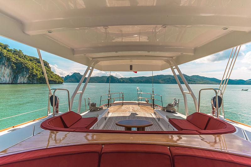 Taronga yacht deck