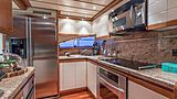 Paradise yacht kitchen