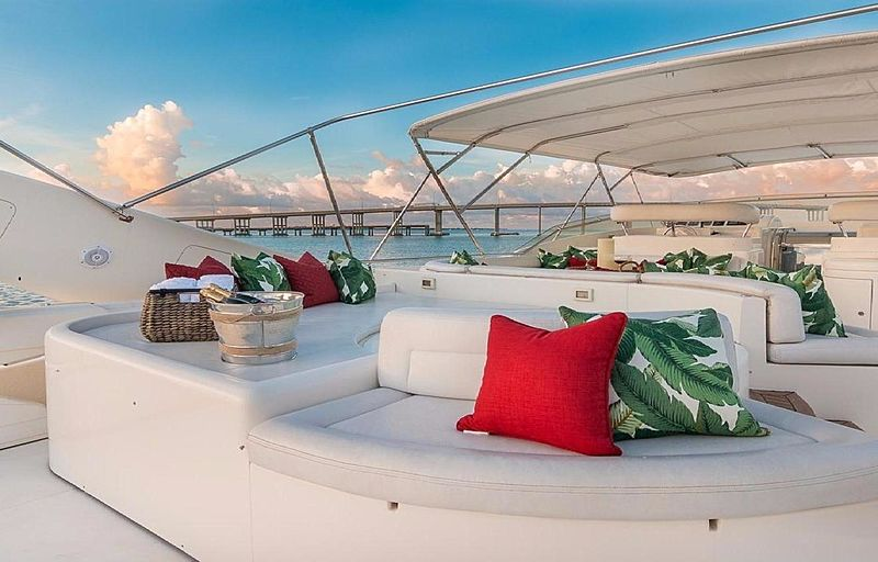 Paradise yacht deck
