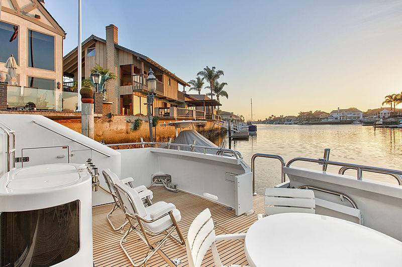 The Flying Dutchman yacht deck