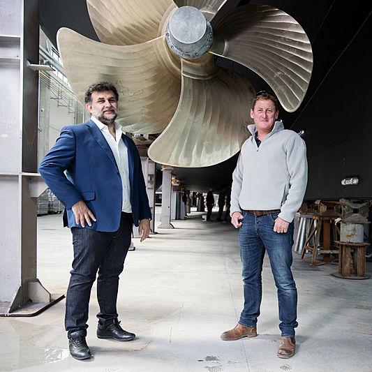 Chris Delves build captain of yacht Life Saga