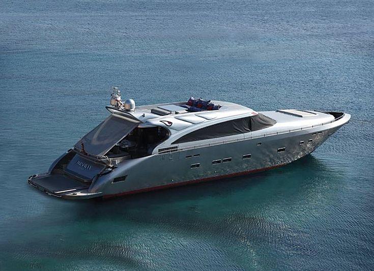 Reveil yacht anchored