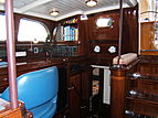 Carmella yacht navigation desk
