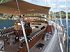 Carmella yacht deck