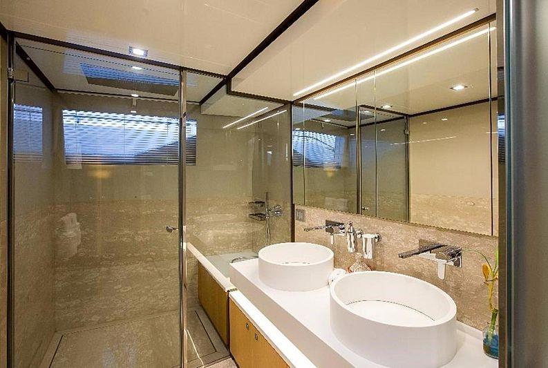 My Soo Too yacht bathroom