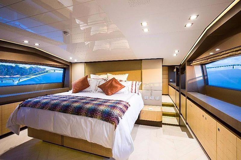 My Soo Too yacht cabin