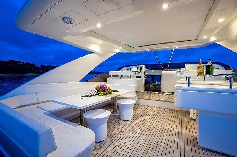 My Soo Too yacht deck