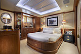 Scout II yacht starboard guest stateroom