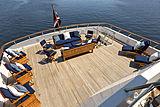 Scout II yacht upper aft deck