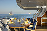 Scout II yacht main aft deck