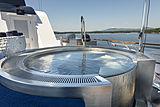 Scout II yacht sun deck