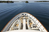 Scout II yacht fore deck
