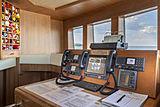 Scout II yacht wheelhouse