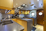 Scout II yacht galley