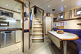 Scout II yacht crew mess