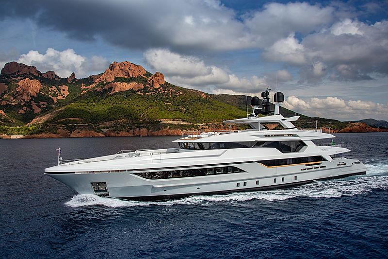 Silver Fox yacht cruising