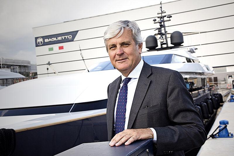 Michele Gavino, CEO of Baglietto