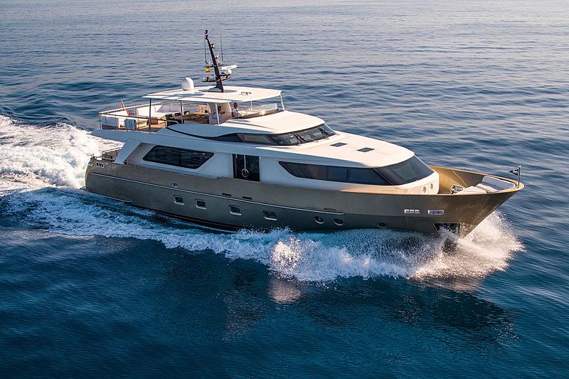 SASPA yacht Sanlorenzo