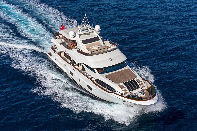 Farfallina yacht cruising