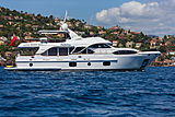 Farfallina yacht anchored