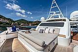 Farfallina yacht sun deck