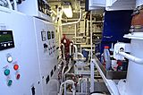 Halcyon Days yacht engine room
