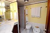 Halcyon Days yacht bathroom