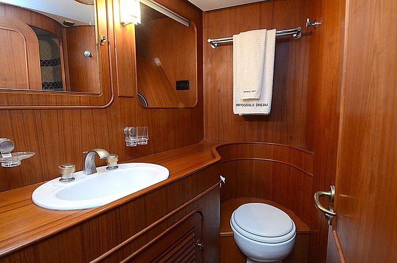 Halcyon Days yacht bathroom